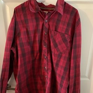 Magellan button down plaid shirt